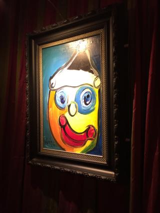 Mansion clown paint