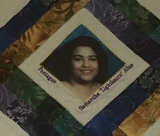 Pent quilt Samantha