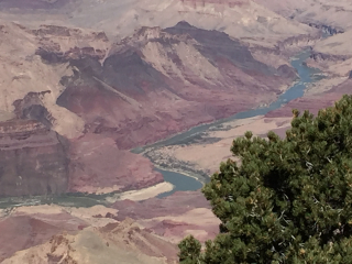 Grand Canyon river closeup 2