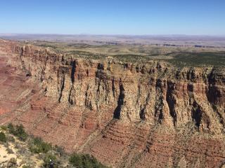Grand Canyon wall sentinels