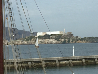 Alcatraz w sail