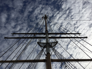 Balclutha mast