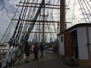 Balclutha side mast